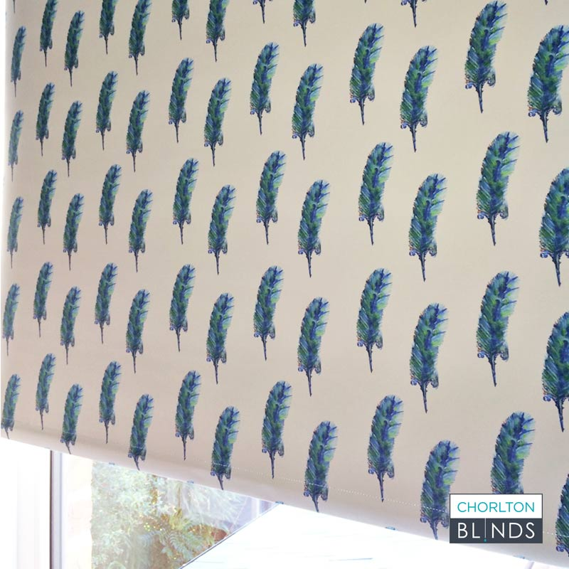 Unique Chorlton Blinds Patterned Roller Blind