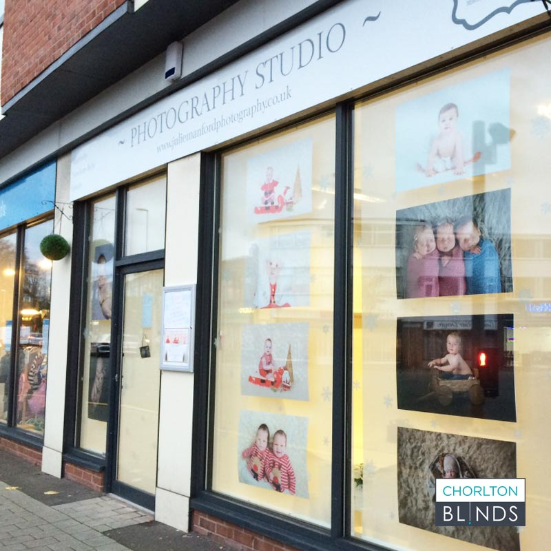 Shop Front Privacy Blinds